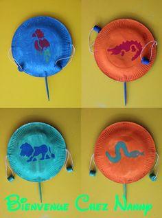 Afocal Bretagne. Pour le Nouvel An chinois, fabriquez des tambourins ! Succès garantit ! Pensez à tester votre activité en amont !