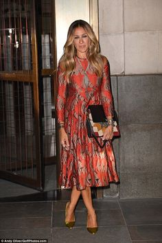 She recently unveiled her new fragrance, Stash, with a very sultry campaign video but Sarah Jessica Parker celebrated the new scent with a party on Tuesday night.