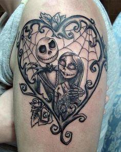 tim burton tattoo
