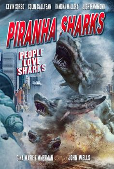 Piranha Sharks are coming! And I have all the latest info for you here. Not only has the film released a new trailer that features appearances from Kevin S