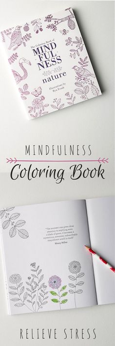 I really like this mindfulness colouring book to relieve stress and anxiety! Designed to relax and promote creativity, this coloring books is the ideal evening activity during the busy week. Yoga Lifestyle, personal development, personal growth, self care, self love, well being, hygge #ad #anthropologie #lifestyle
