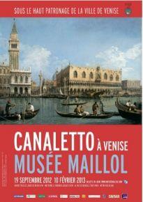Canaletto à Venise - musée Maillol