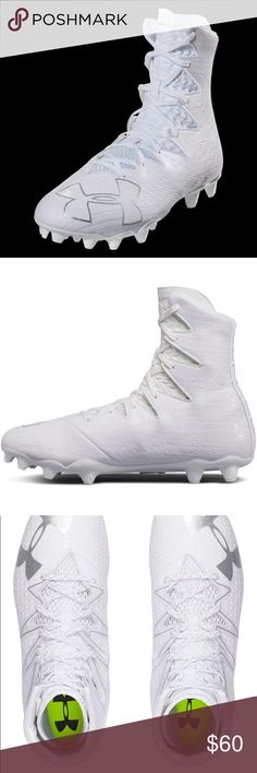 the best attitude 88e93 32f0f Under Armour Highlight MC White Football Cleats Brand  Under Armour  Condition  Brand New With