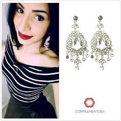 "Happy happy customer @massgp con sus aretes ""Silverlight""  #happy #happycustomer #earrings #silvercolor #beauty #byou #becomplete"