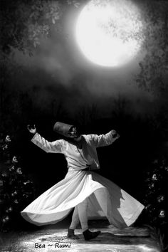 The Moon Stays Bright When It Doesn't Avoid The Night. ~Rumi