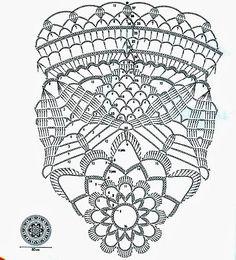 Blog dedicato ai lavori all'uncinetto. Grande spazio è dedicato all'archivio di schemi gratuiti, suddivisi per categorie e tipologie. Crochet Dollies, Crochet Flowers, Crochet Round, Crochet Home, Doily Patterns, Crochet Patterns, Hobbies And Crafts, Diy And Crafts, Crochet Doily Diagram