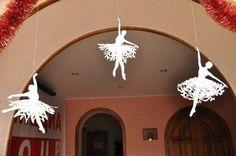 Auf folgende Seite erkennen Sie, wie kann man ganz einfach und schnell die wunderschöne Schneeflocken als Ballerina basteln. Schauen Sie mal...