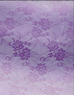 Fashion Lace Fabric- Ombre Stretch Lace Purple