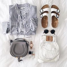 Outfit | Festival ready | Fresh | White | Shorts | More on Fashionchick.nl