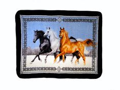 Throw - Running Horses Blanket