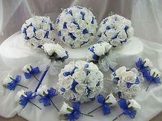 royal blue and black and white wedding | eBay