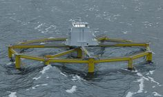 The automated 'fish rigs' that could farm Salmon in the North Sea