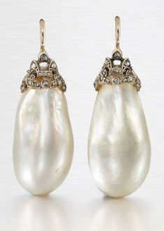 925 Sterling Silver Hoop Handpicked AAA+ Quality White Freshwater Cultured Pearl Dangle Drop Earrings Jewelry for Women Girls – Fine Jewelry & Collectibles Pearl Necklace Designs, Pearl Jewelry, Antique Jewelry, Silver Jewelry, Vintage Jewelry, Fine Jewelry, Pearl Earrings, Silver Earrings, Jewellery
