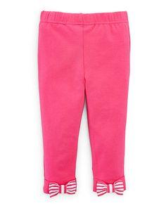 Bow-Back Cotton-Blend Legging - Pants, Leggings & Shorts  BABY GIRL (0-24 months) - RalphLauren.com