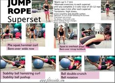 Jump Rope Strength Workout -- from Fitnessista