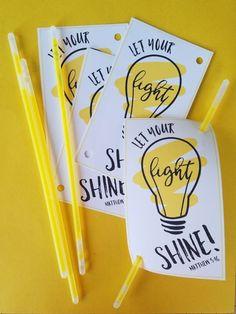 Let Your Light Shine, Valentine!--FREE Valentine's Day Printable-- #glowsticks #Matthew516 #withabowcelebrations #ValentinesDay #valentines #printables #free
