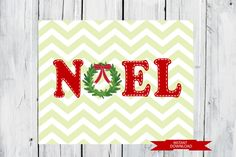 Christmas Decor  Noel Print   Instant Download by TheEducatedOwl, $5.00