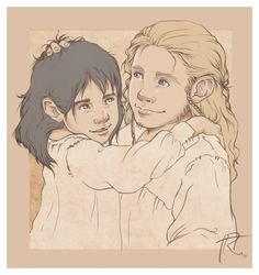 Aaaand it's little Fili and baby Kili. What's that? I can't hear you over the sound of their cuteness!
