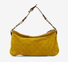 Louis Vuitton Mustard Suede~~~