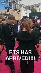 yeah...that's BTS — allforbts: 170522 Billboard Music Awards'... (Video clip)