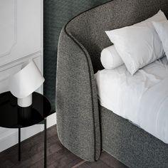 Caillou, Autocad, Grey Sofa Decor, Bed Furniture, Furniture Design, Hotel Room Design, Guest Bed, Headboards For Beds, Liu Jo