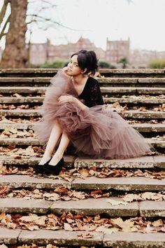 Tulle skirt love x