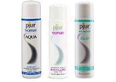Pjur Woman er glidecremer specielt fremstillet med fokus på kvinders følsomme hud - både vand- og silikonebaseret varianter