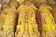 Interiors of Bandeshwar Temple in Bikaner
