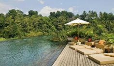 Ubud Hanging Gardens: Tone muscles with some laps in the pool � then relax them with a trip to Ayung Spa.