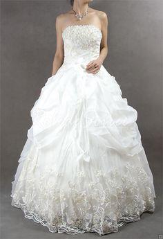 Robe de Mariée A-ligne-robe de mariée sur mesure, robe de mariage pas chéres couleur robe