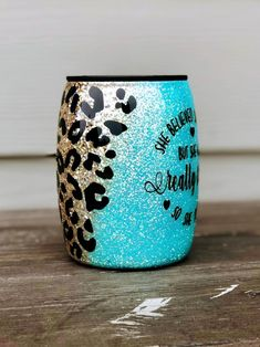 Stainless Steel Coffee Mugs, Stainless Steel Cups, Teal Blue Color, Teal Colors, Loose Glitter, Gold Glitter, Starbucks Coffee Cups, Cricket Crafts, Personalized Tumblers