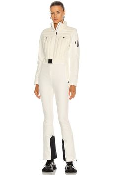 Perfect Moment Gstaad Jumpsuit #forward #perfectmoment #skiwear #winterseason #skijumpsuit #womanskioutfit #luxuryskioutfit Fashion Outfits, Ski Outfits, Womens Fashion, Fashion Clothes, Ski Jumpsuit, Luxury Branding, White Jeans, Fashion Brands, Snow White