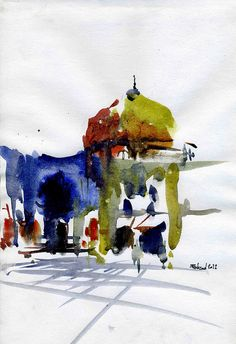 Naqshe jahan square (7) by Behzad Bagheri Sketches, via Flickr