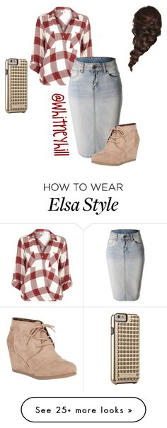 """Casual Day Out!!"" by whitneyhill on Polyvore featuring River Island, LE3NO, City Classified, Rebecca Minkoff and Disney"
