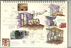 Toilets to die for - Sketchbook