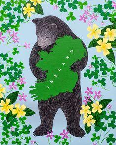 """I Love You Ireland"" Print"