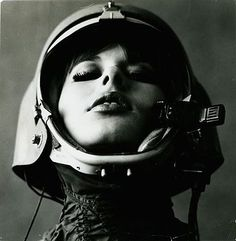 black and white photography portrait astronaut Space Girl, Space Age, Space Odyssey, White Photography, Fashion Photography, Vintage Photography, Band Photography, Portrait Photography, Foto Portrait
