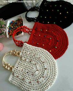 En guzel aksamlar sizin olsun canlar 😗🌸🌹😗 yine çantalarim yakiyor sankim ne dersiniz ? Crochet Shell Stitch, Crochet Stitches, Knit Crochet, Crochet Handbags, Crochet Purses, Crochet Crafts, Crochet Projects, Crotchet Bags, Crochet Purse Patterns