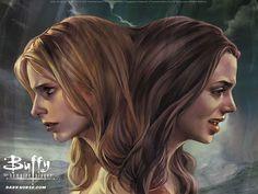 Jo Chen : Buffy the Vampire Slayer Comics Covers Wallpapers   - Jo Chen Cover Illustrations of Buffy the Vampire Slayer    9