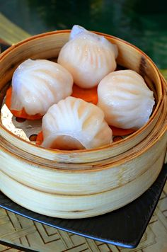 rainbow prawn dumpling fooddim sum Pinterest Dumplings