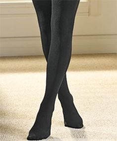 i've seen fleece-lined leggings, but not fleece-lined TIGHTS! Maybe this would fix all the runs in tights ?