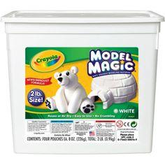 Crayola® Model Magic® Modeling Compound, 2 lb. Tub, White, BIN574400
