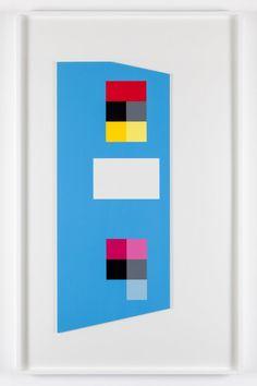 'Irregular cerulean blue'  - Peter Saville