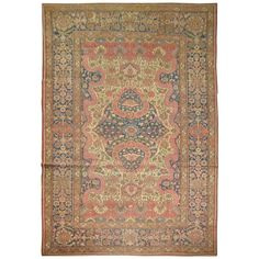 Antique Romanian Rug | From a unique collection of antique and modern western european rugs at http://www.1stdibs.com/furniture/rugs-carpets/western-european-rugs/