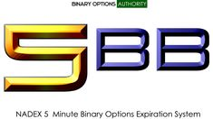 5BB NADEX 5 Minute Binary Options Expiration System for Daily Cash Flow Generation.... 5BB gives you an edge that is needed in the five-minute NADEX binary options. Once it learn and master the 5BB NADEX 5 Minute Binary Options Expiration System 11 valuable additional approach to trading the NADEX five-minute binary options that can put you better probability position for profiting more consistently. remember the key with NADEX 5 min. binary options is interaction with the strike prices try to g