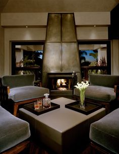 Amazing fireplace design