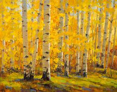 September Color by Robert Rohm Oil ~ 24 x 30