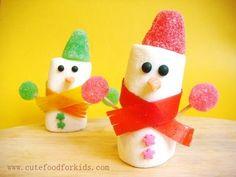 #Marshmallow #Snowmen