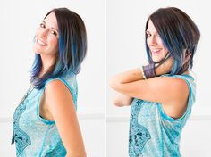 How to (Literally) Color Your Hair, No Foil Required via Brit + Co.