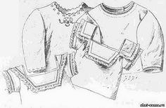 Детские рубашки - Мода 1890 - 1900 г. - Исторический раздел - Всё о шитье - Шей сама